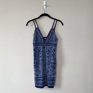 Free People Bodycon Dress (blue)
